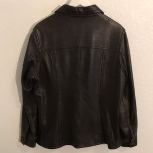 Vintage Lord & Taylor soft leather jacket
